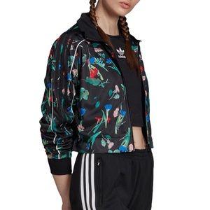 Adidas Originals Bellista Floral Track Jacket
